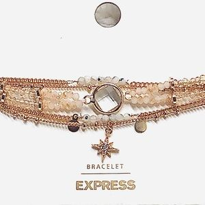 Express North Star🌟 delicate gold bracelets